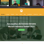 WEBINAR MERINTIS INDONESIA SUMMIT 2021
